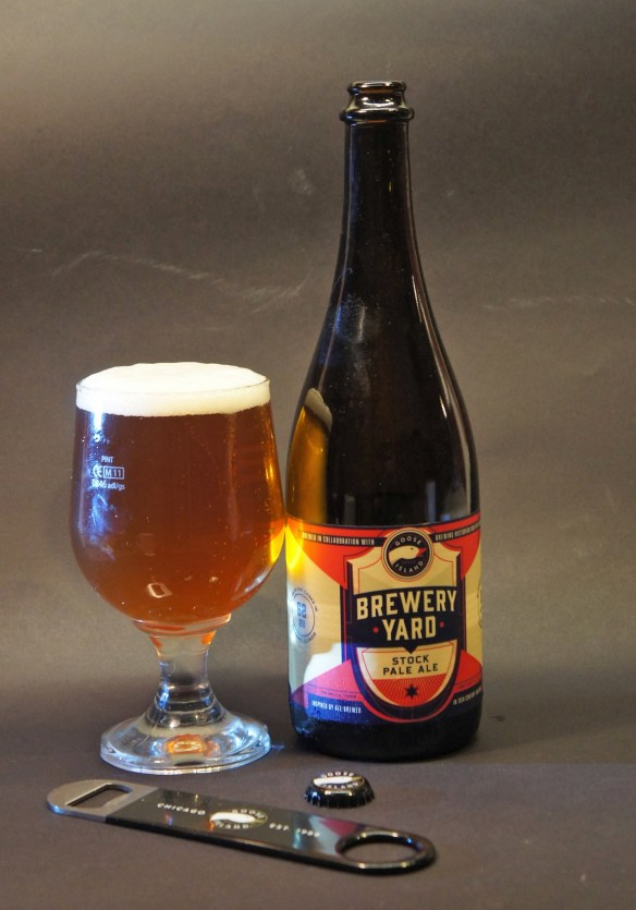 Brewery Yard Stock Pale Ale