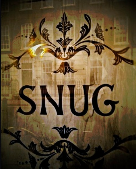 The window in the snug bar of the John Snow pub in Broadwick Street, Soho, London (and yes, it's been reversed …)