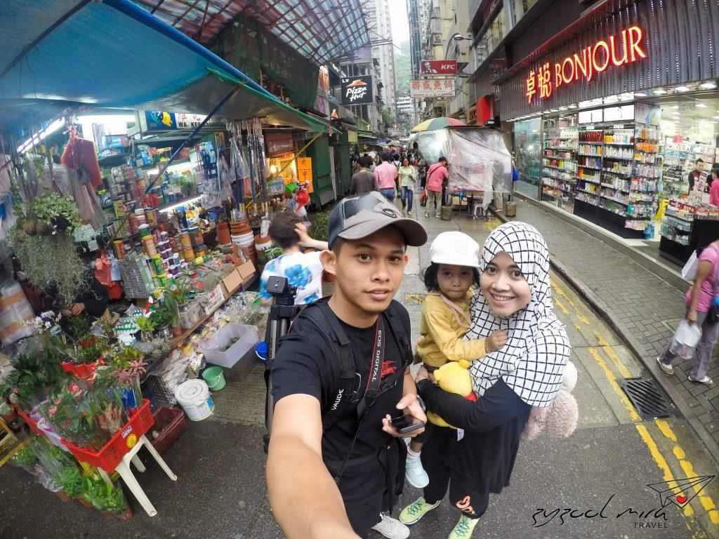 Tips Percutian Hong Kong