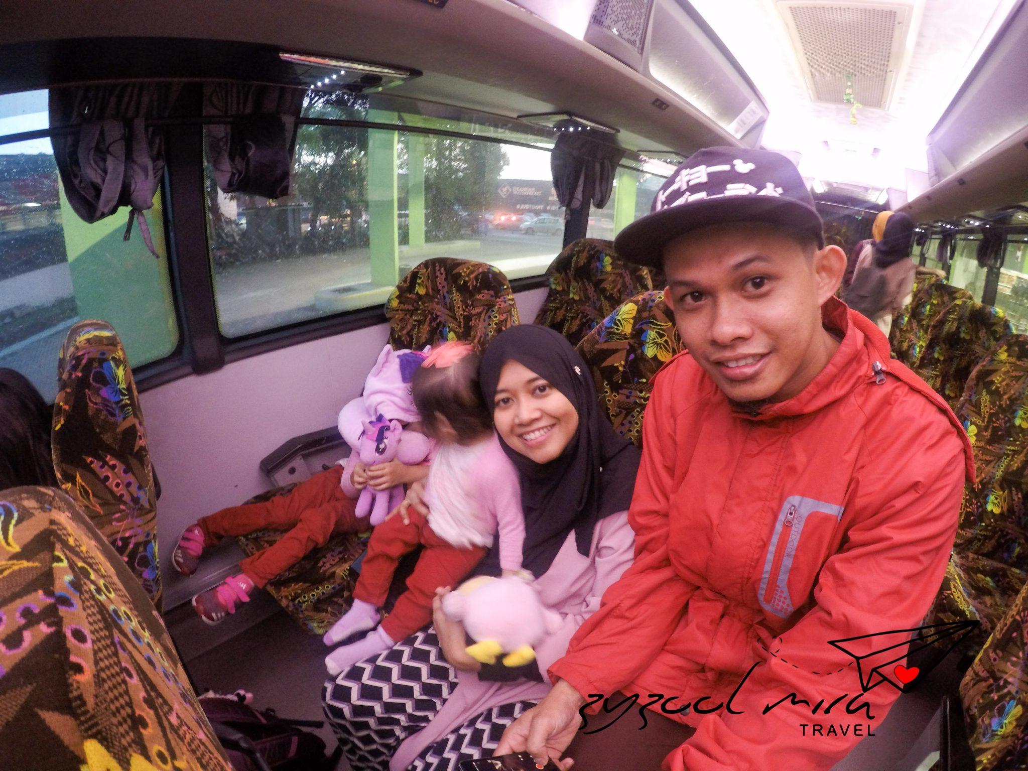Bas YOYO dari Johor Bahru ke KLIA / KLIA2