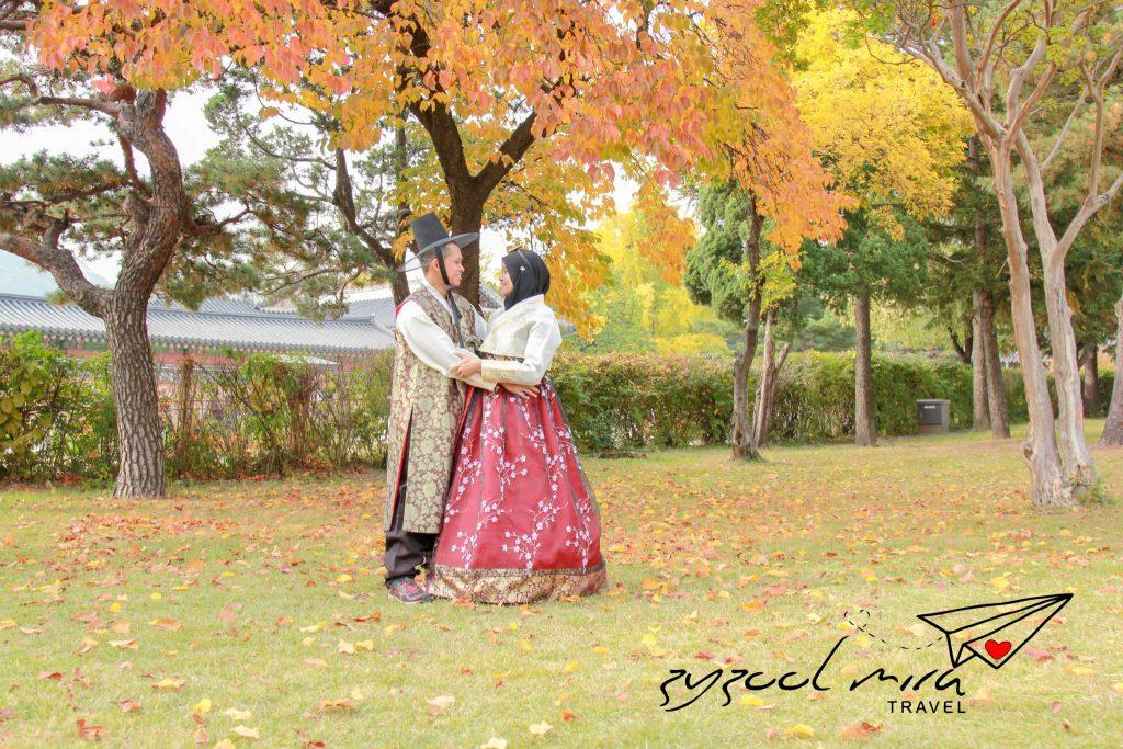 Zyzool dan Mira di Korea musim luruh (Autumn)