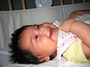 Fabiola at 2.5 months old